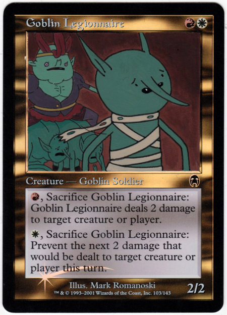 Goblin legionnaire
